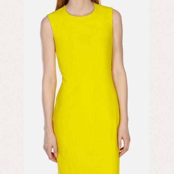 14180b0c24 Karen Millen Dresses & Skirts - 💛Karen Millen yellow straight sleeveless  dress